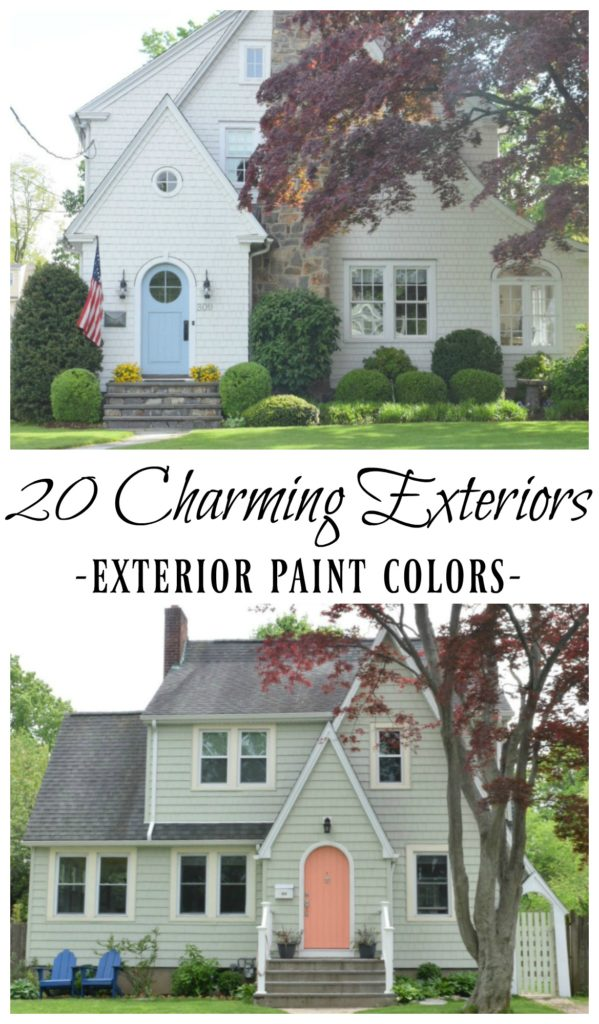 20 Charming Exteriors and Exterior Paint Colors