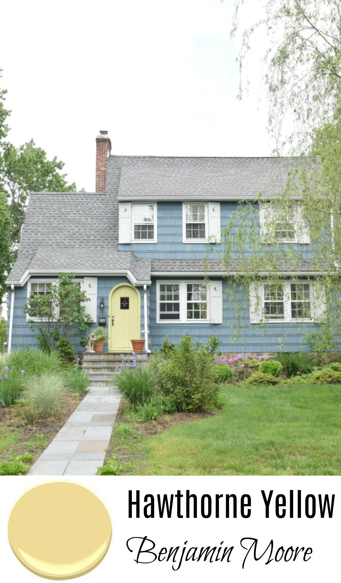 New england homes exterior paint color ideas nesting for Best yellow exterior paint color