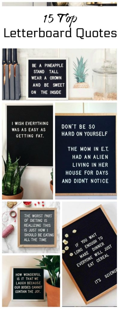 Letterboards are you funny enough to own one nesting for Fitted kitchen quotes