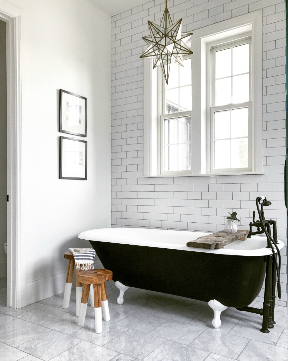 House Tour Master Bath: Master Bedroom And Bath Tour- Mixing Old And New