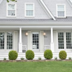 New England Homes- Exterior Paint Color Ideas
