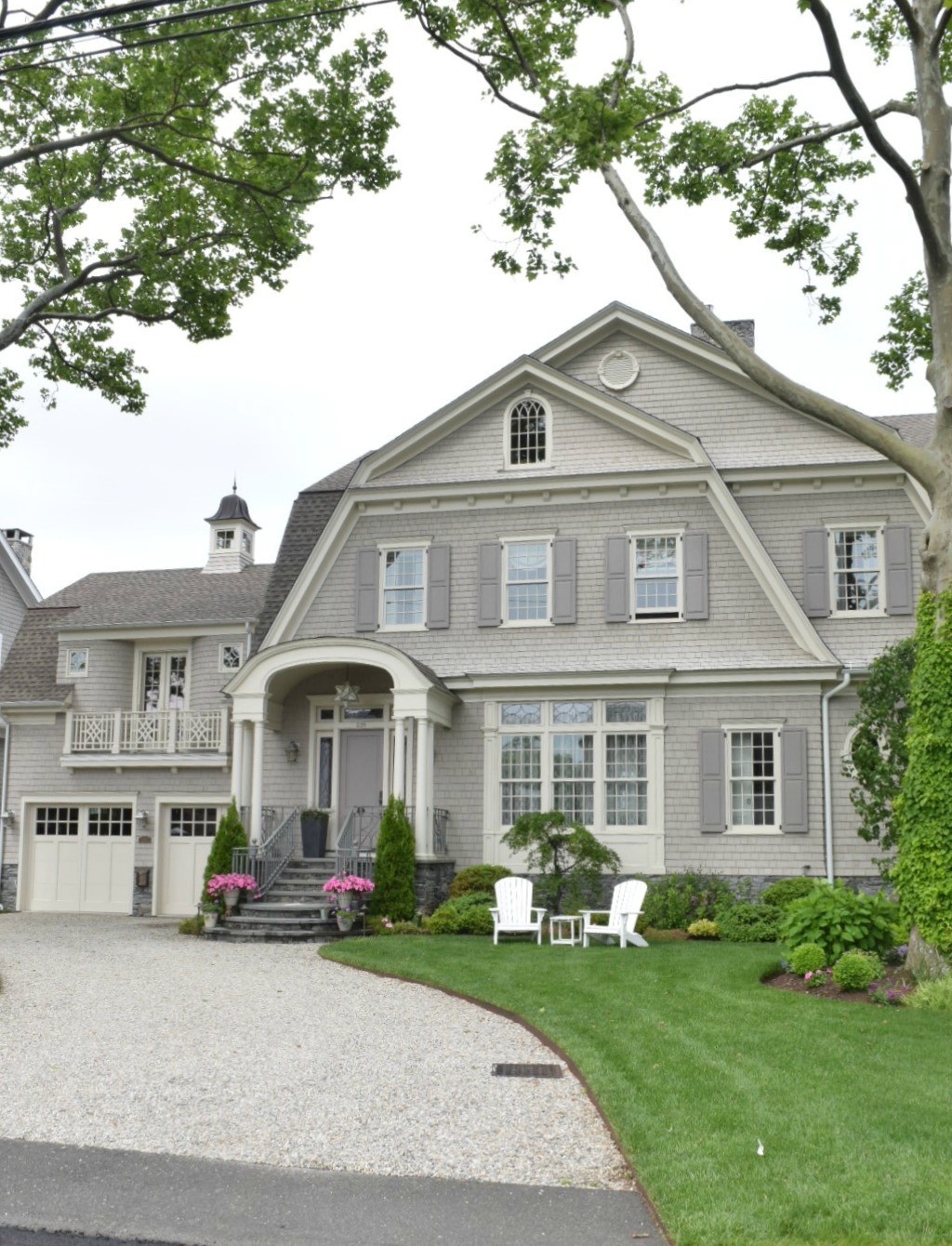 New england homes exterior paint color ideas nesting with grace - Exterior painting vancouver property ...