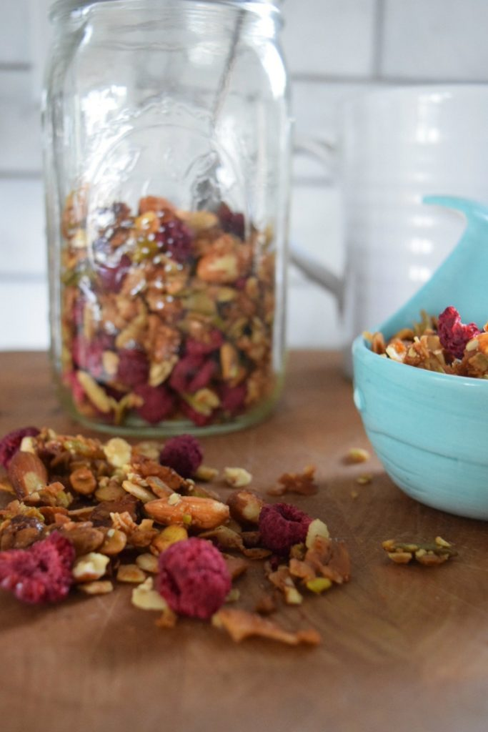 New England Home- Kitchen Tour of a Dietitian and her Paleo Granola