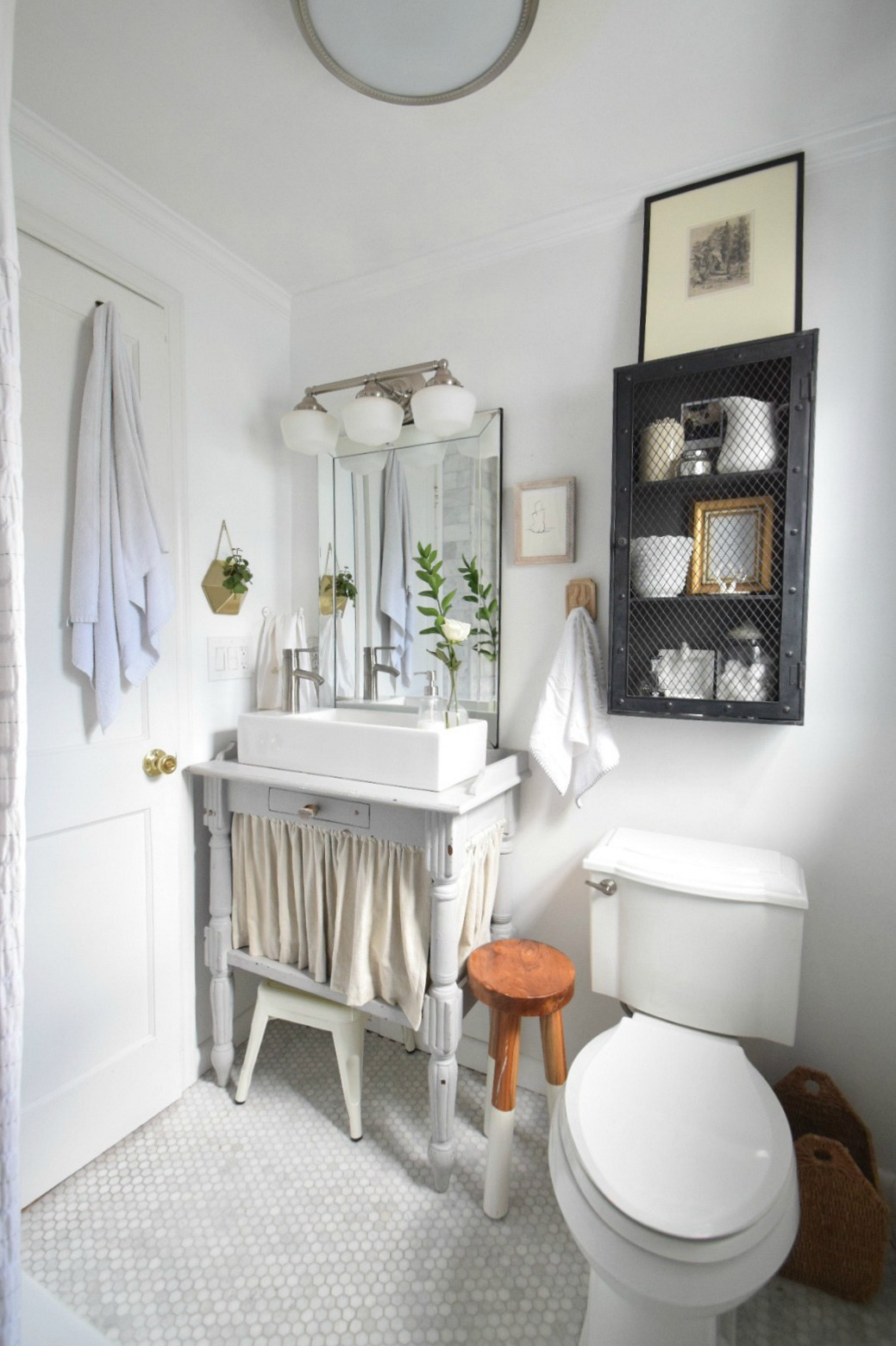 Small Bathroom Ideas and Solutions in our Tiny Cape ... on Simple:zvjxpw8Nmfo= Small Bathroom Ideas  id=89292