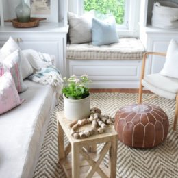 Jute Rug Review in Our Living Room