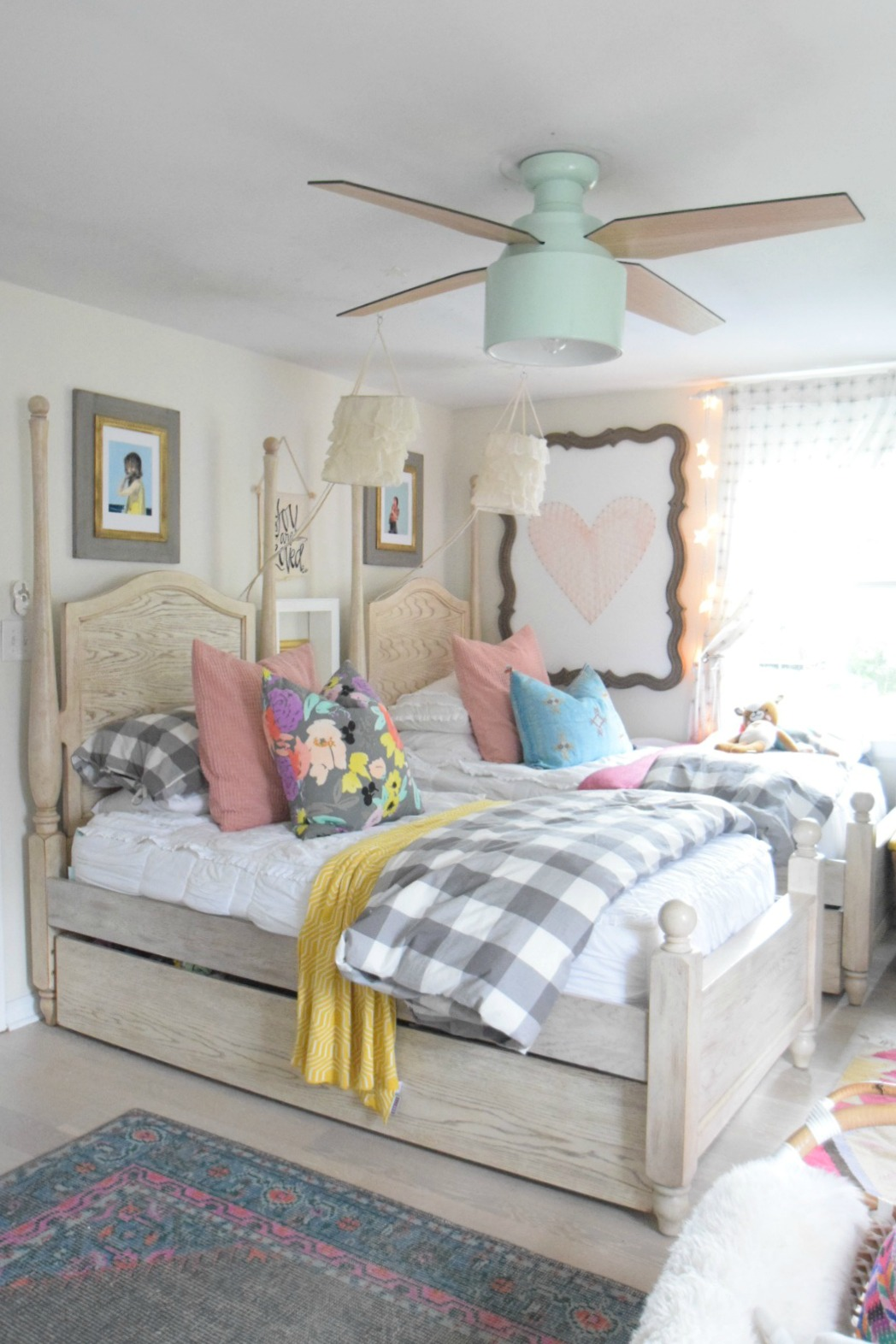 modern ceiling fans 14508 | modern ceiling fans in girls bedroom 03