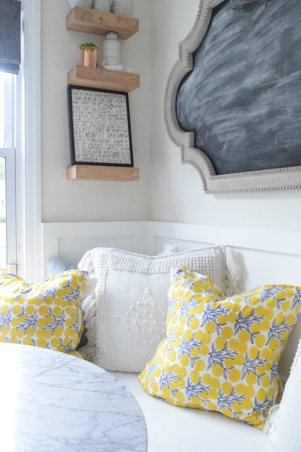 No Sew Pillows- Easy DIY pillows out of napkins & No Sew Pillows- Easy DIY - Nesting With Grace pillowsntoast.com