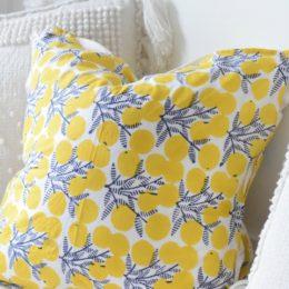 No Sew Pillows- Easy DIY