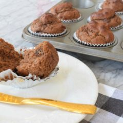 Paleo Muffins- Pumpkin Chocolate and my Top Favorite Healthy Muffins
