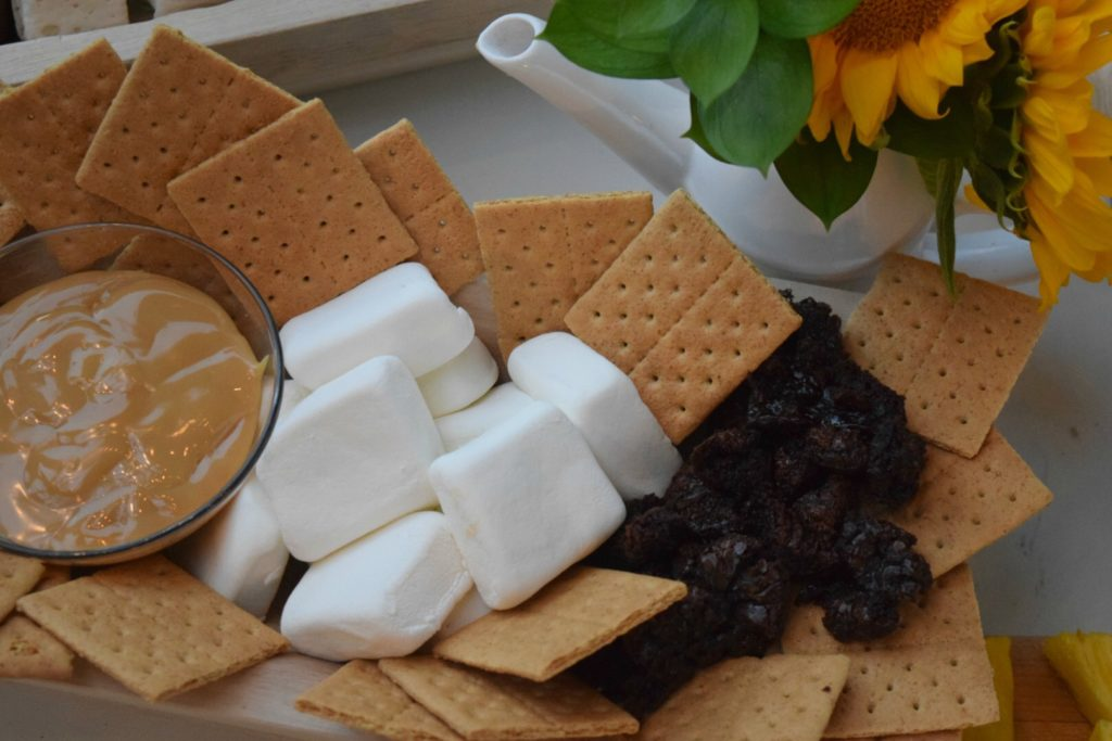10 S'more Ideas with Healthy Options- In gorgeous Outdoor Patio