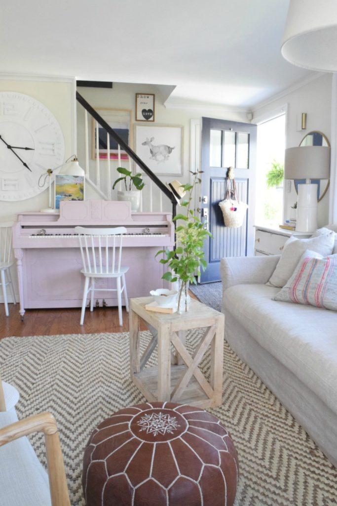 Summer Home Decor- Family Room- Home Decor Ideas 01