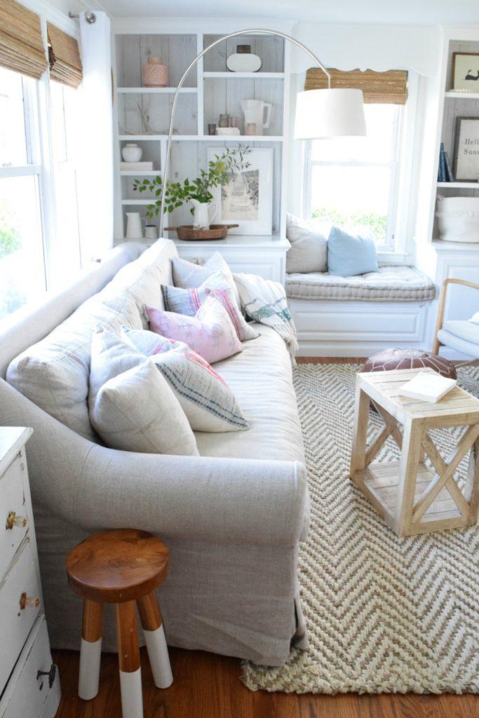 Summer Home Decor- Family Room- Home Decor Ideas 017