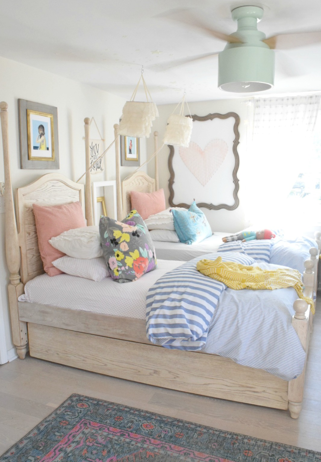Summer home decor ideas our summer tour 2017 nesting - Home decor ideas bedroom ...