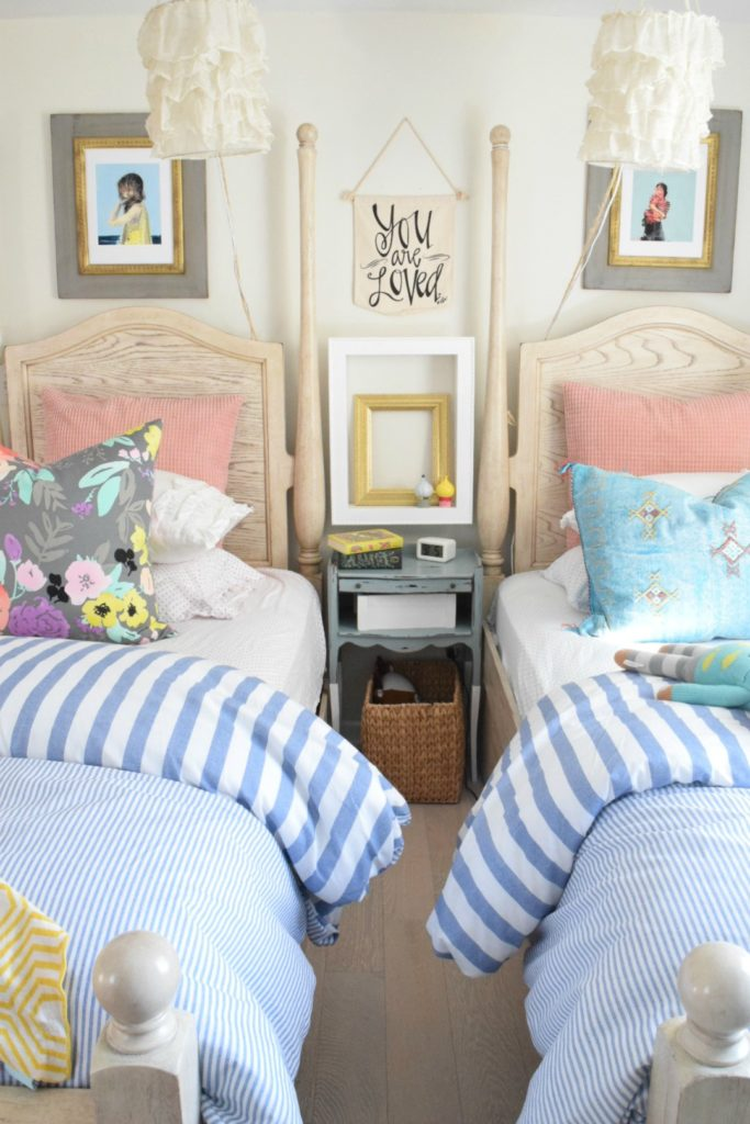 Summer Home Decor Ideas- Our Summer Tour 2017 - Nesting ... on Girls Room Decor  id=11425