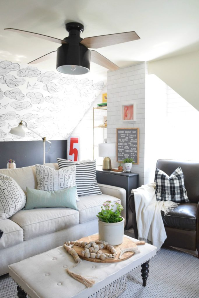 Summer Home Tour- Summer Bucket List and Family Room