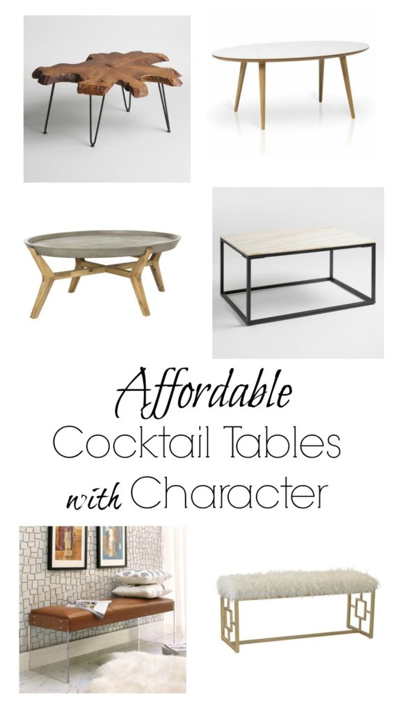 Coffee Table Ideas- For a Tiny House