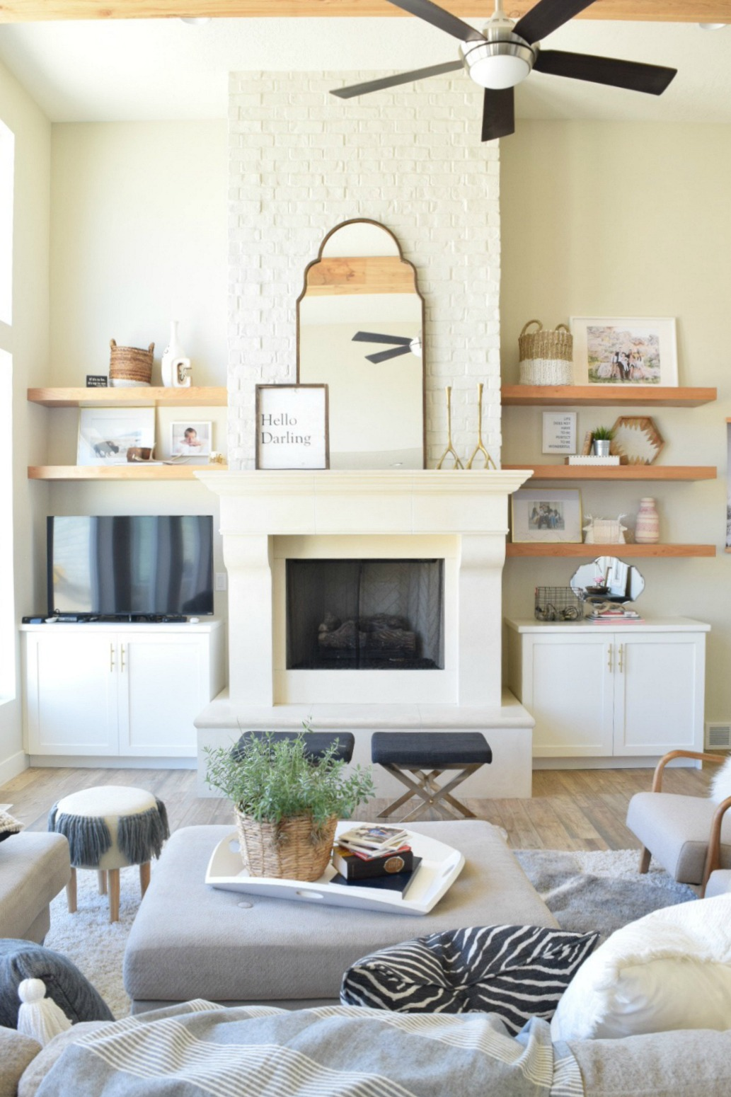 Take Home Designer Series- White Kitchen And Great Room