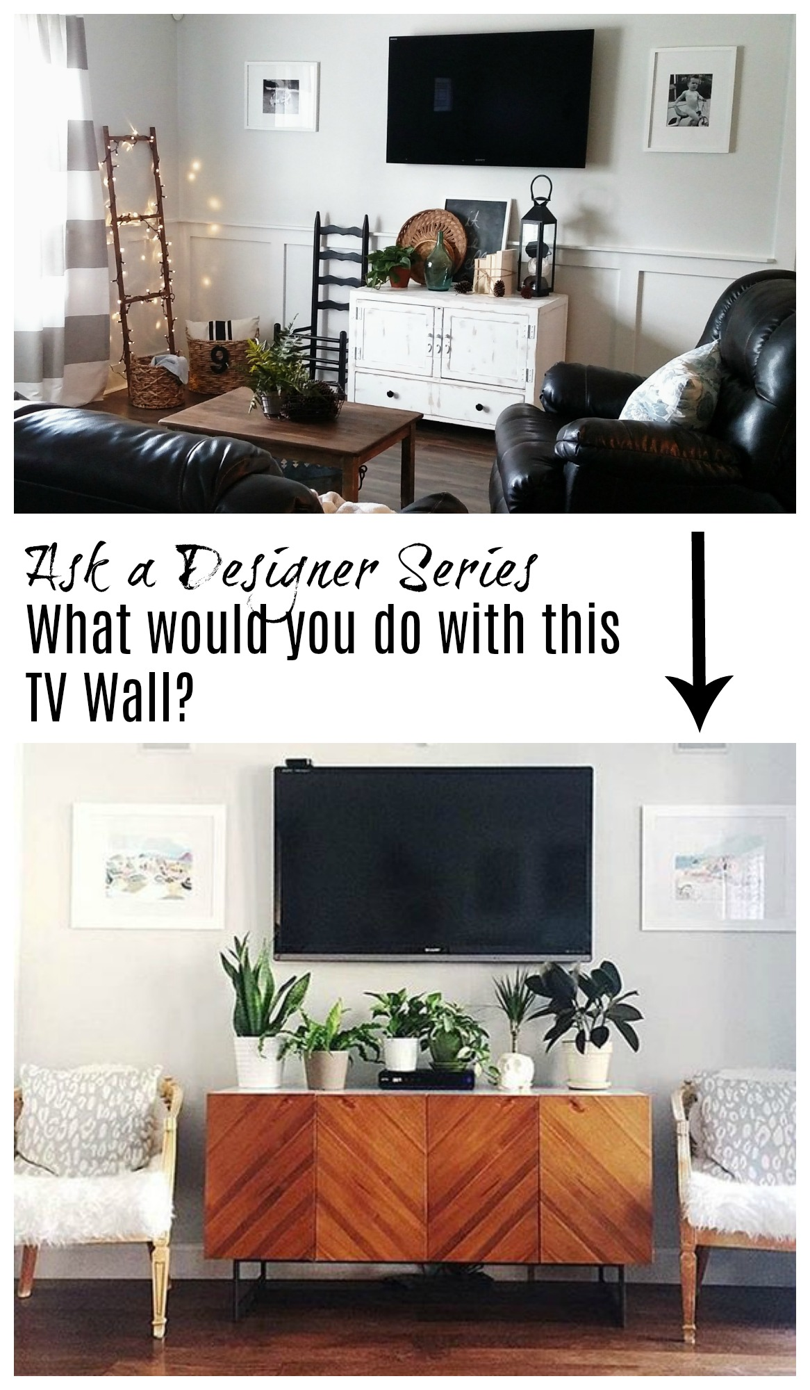 TV Wall Ideas- What would you do with this TV wall?