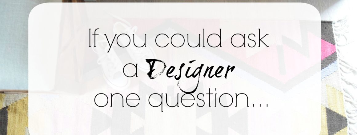 Ask A Designer Series- What Do I Do With My Walls