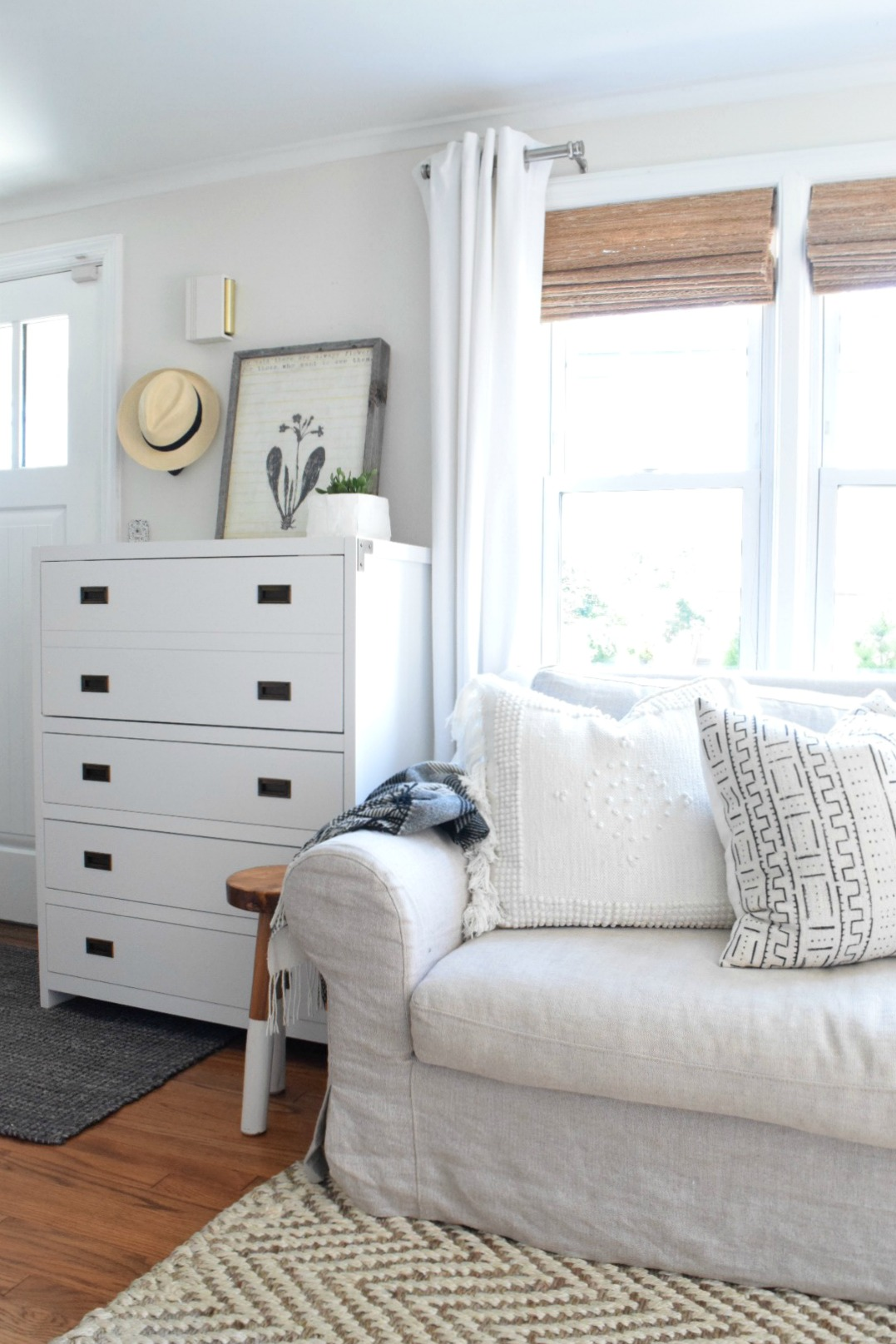 Maximize a small space with a secretary desk nesting for How to maximize small spaces