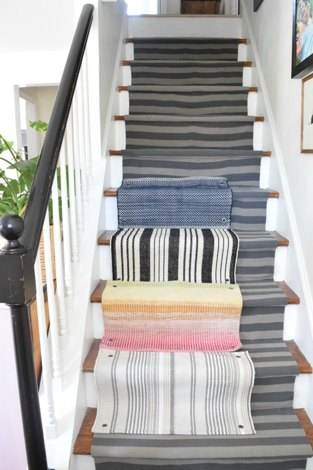 Stair Runners- Favorite Ideas for Rugs on Stairs
