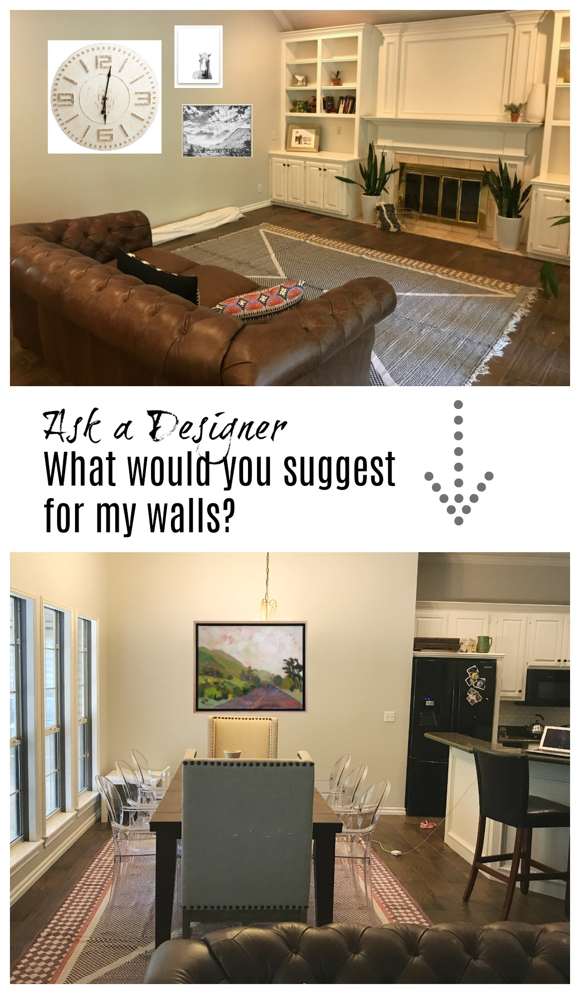 Ask a Designer- What would you Suggest for my walls?