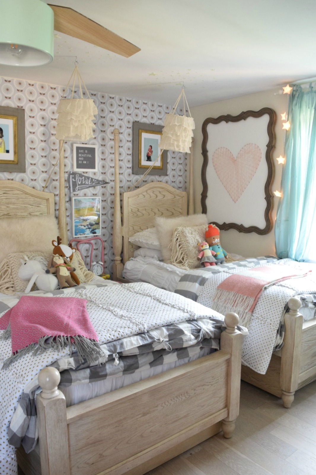 Where to find- Hanging Lights for a Girls Bedroom