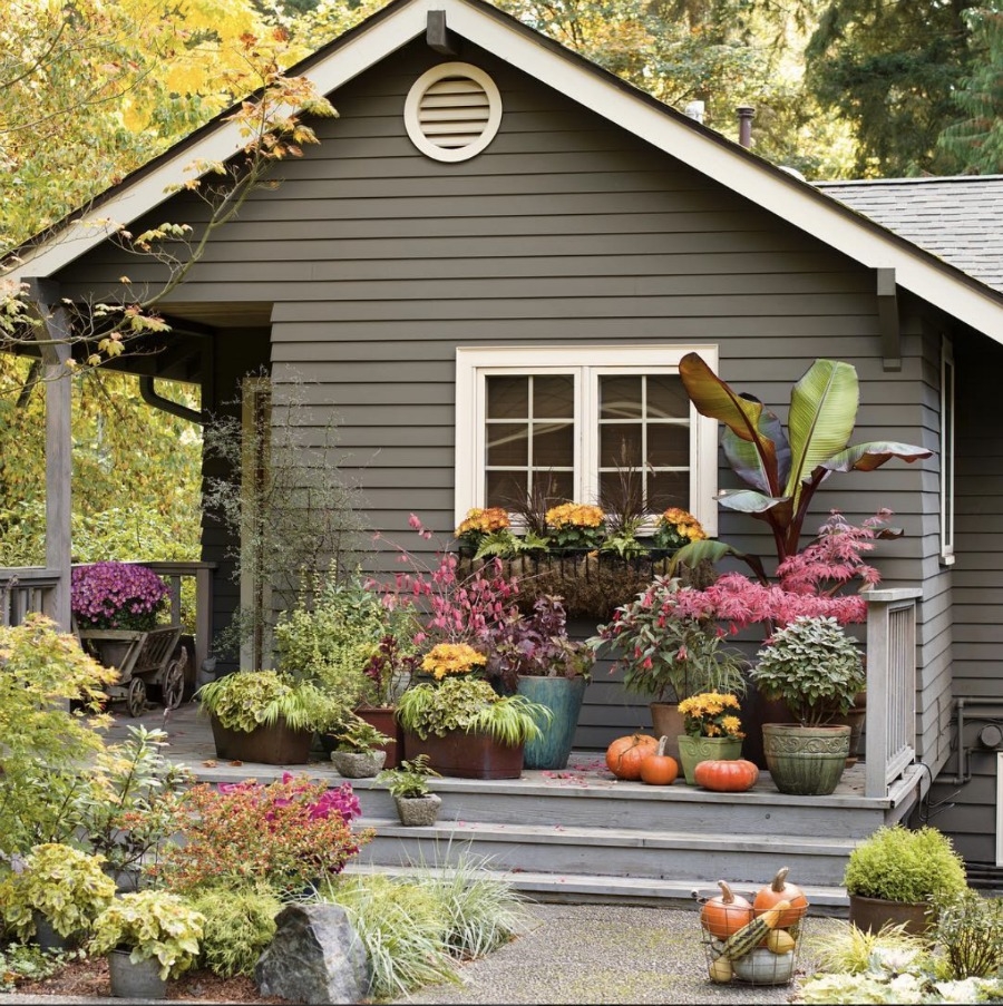 Friday favorites starts with fall porches nesting with grace - Fall front porch ideas ...