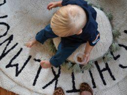 Home Decor Favorites- Washable Rug in Boys Nursery