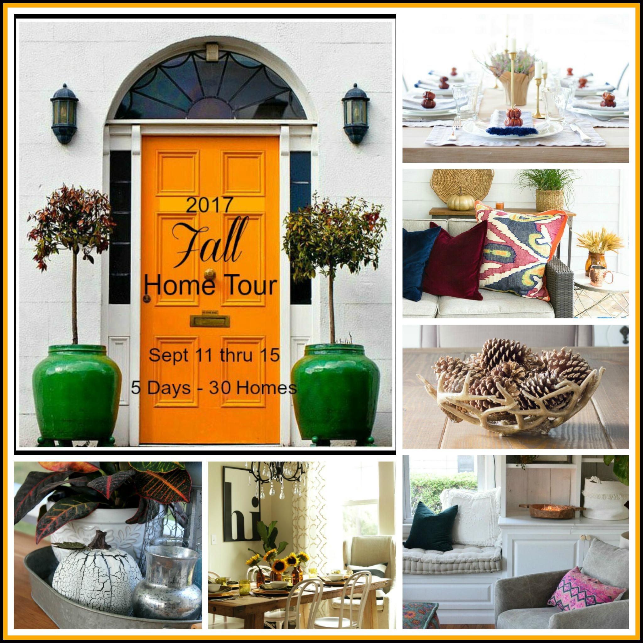 Fall Blogger Home Tour