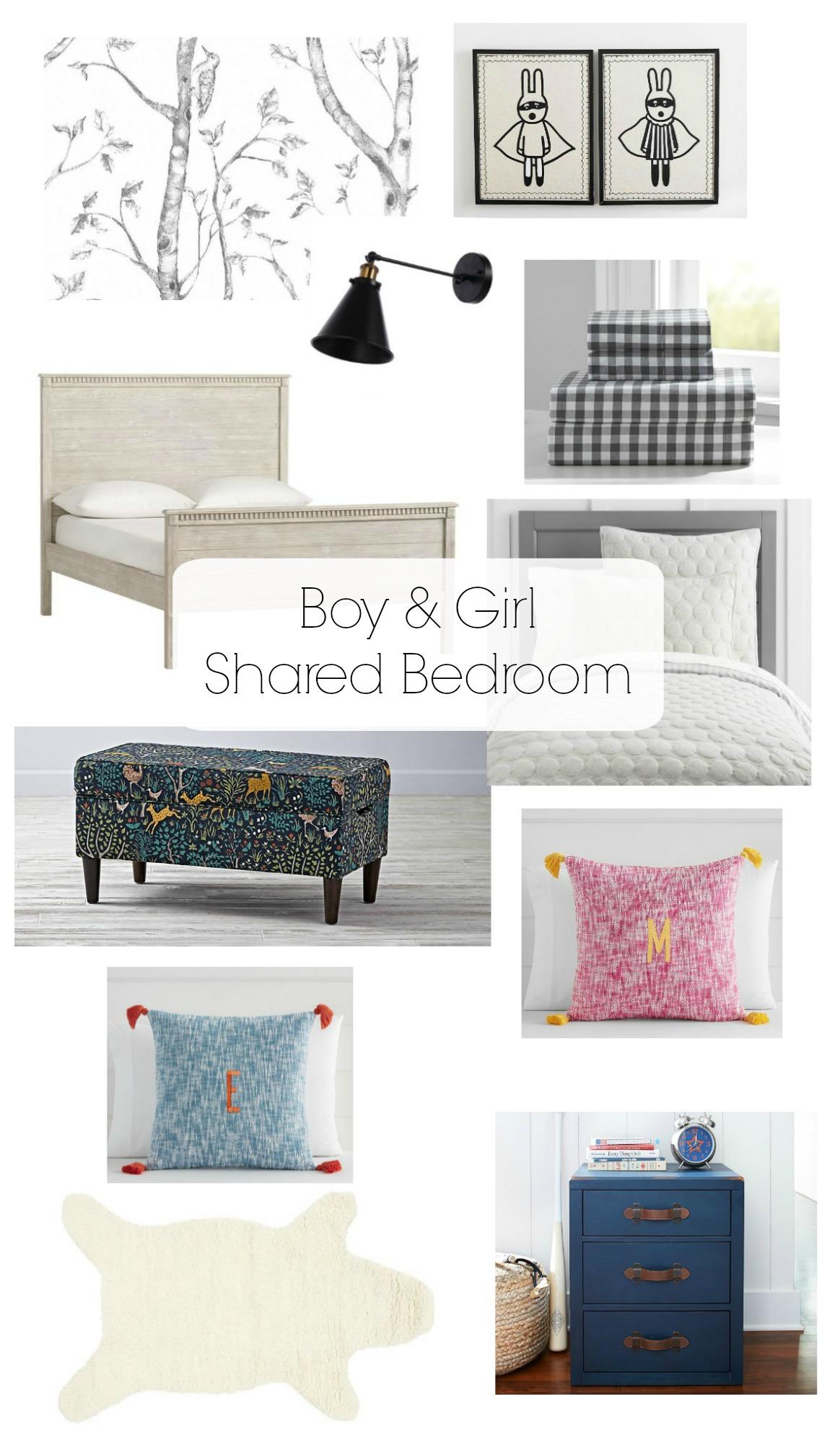Boy and Girl Shared Bedroom Idea