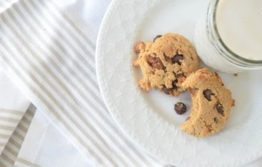 Paleo Chocolate Chip Cookies- My go-to Paleo Dessert