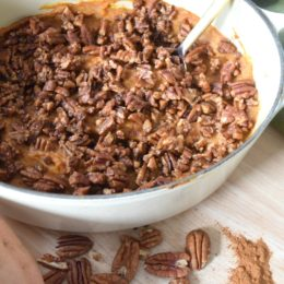 Paleo Sweet Potato Casserole- Healthy Thanksgiving Side