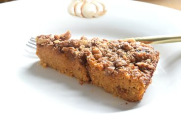Pumpkin Crunch Cake- Gluten Free and Paleo Dessert