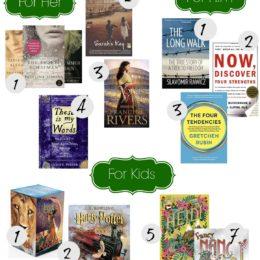 Christmas Gift Guide for Readers- Favorite Books for All