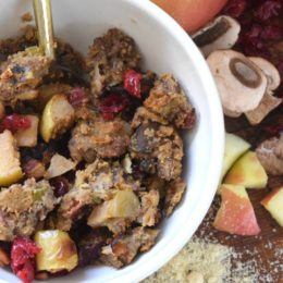 Paleo Stuffing- Healthy Thanksgiving Side