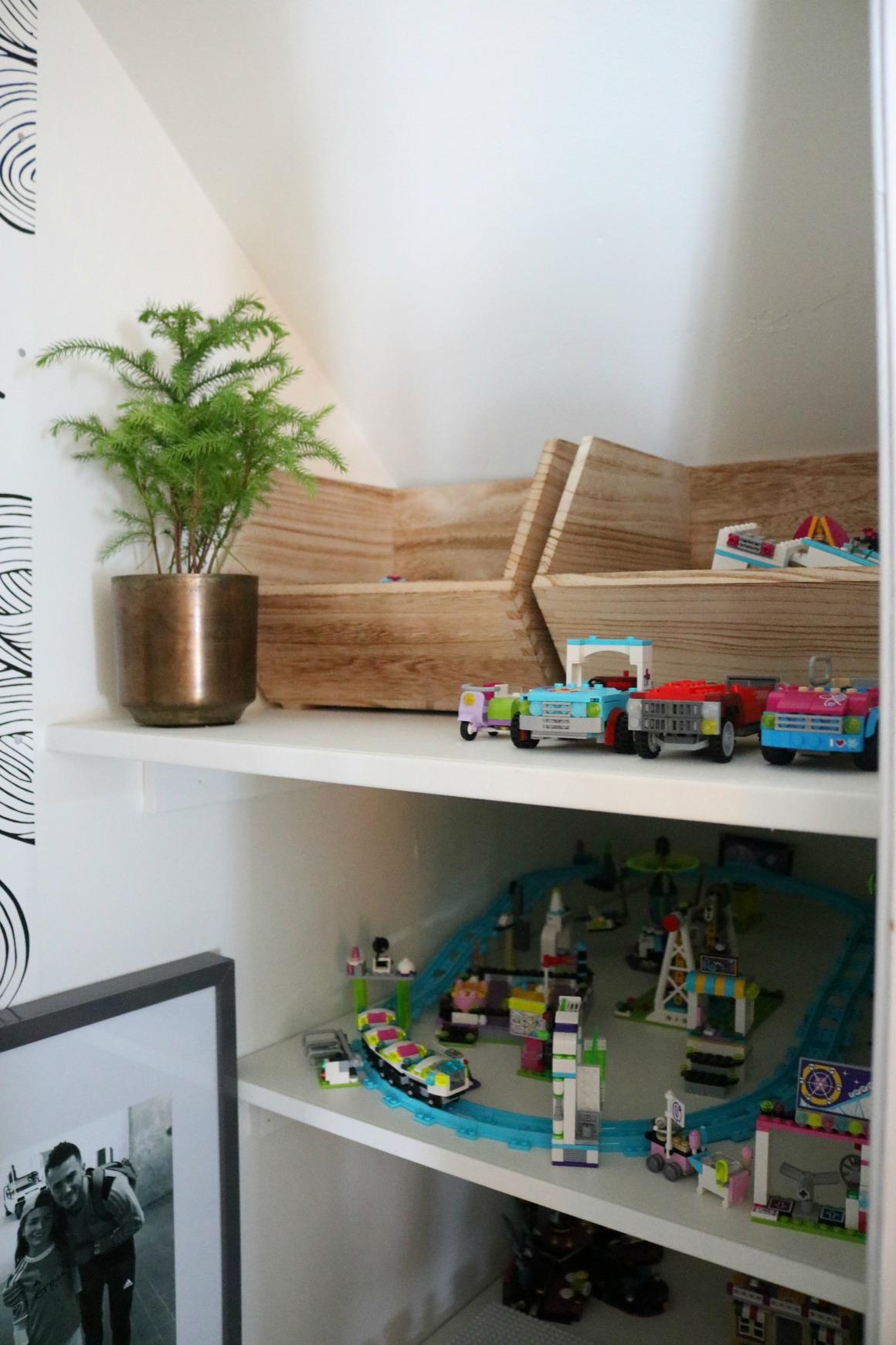 Lego Storage Solution- Closet Turned Lego Room