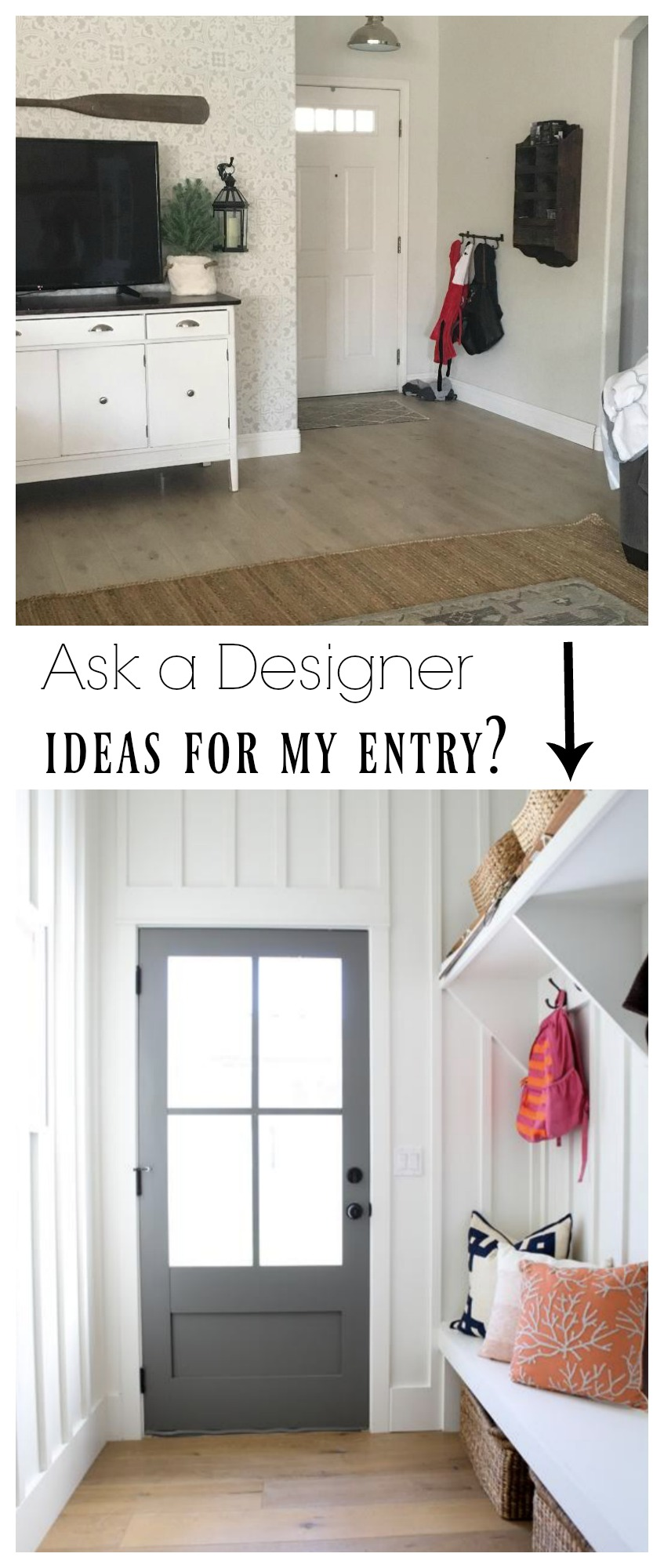ask a designer ideas for my small entry - Designer Ideas
