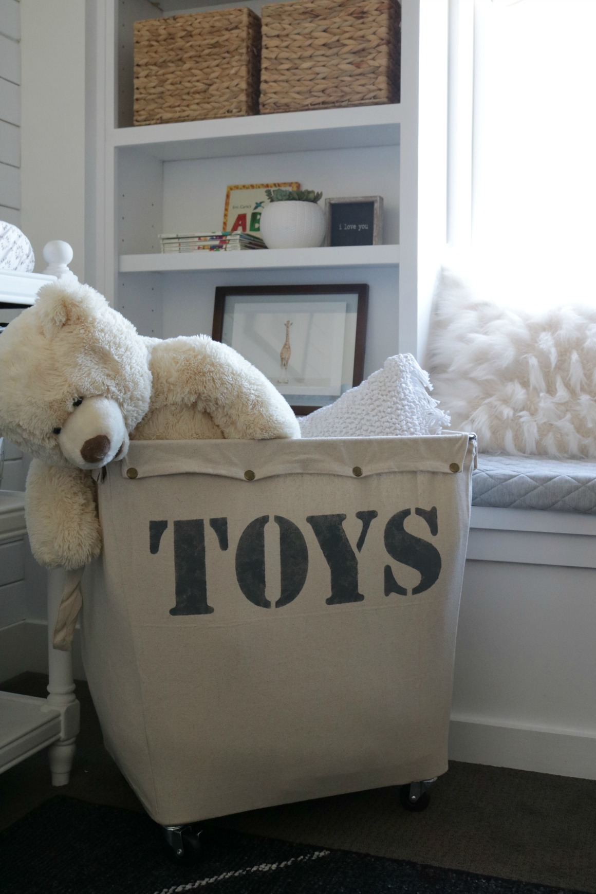 Kids Toy Organization Custom Rolling Storage Bin Nesting With Grace