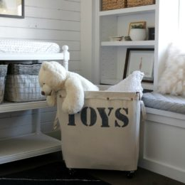 Kids Toy Organization- Custom Rolling Storage Bin