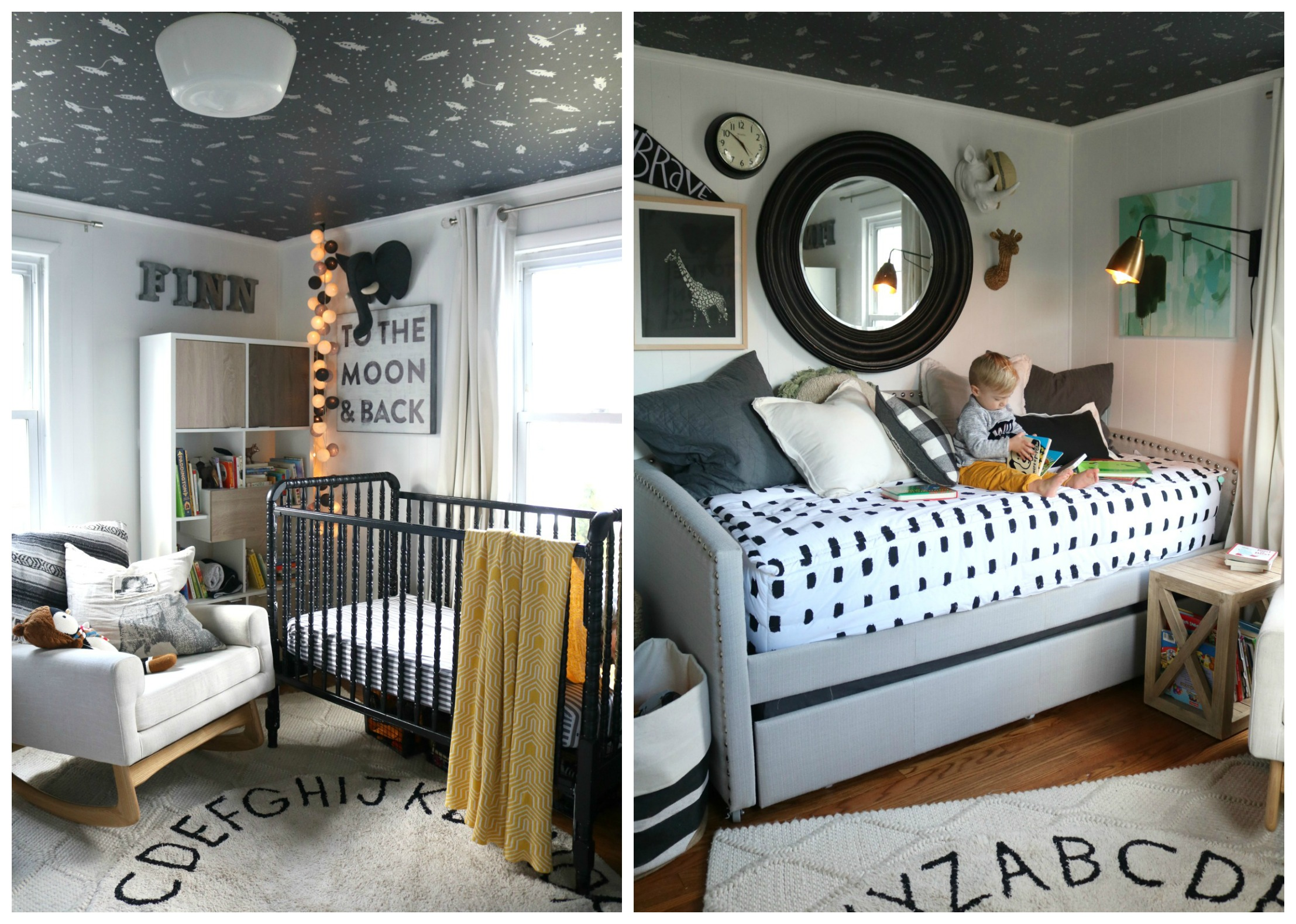 Hgtv Full Magazine Spread 1100 Square Feet Then And Now Nesting With Grace