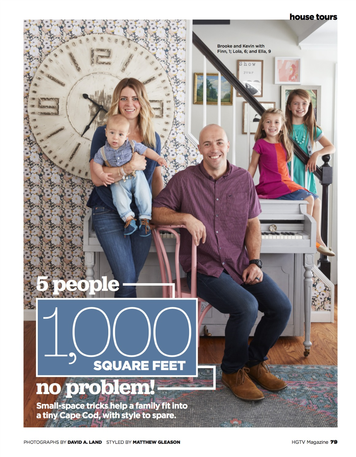 1100 Square Feet HGTV Magazine Feature- Then and NOW!