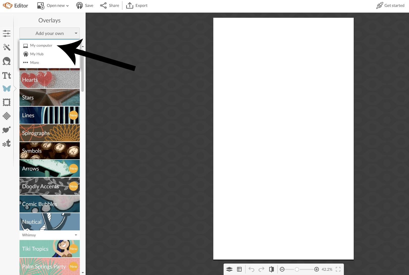 how to create a design board