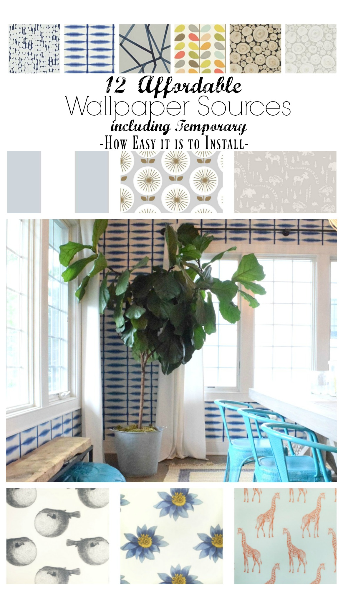 Wallpaper Sources and Temporary Paper and How to Install