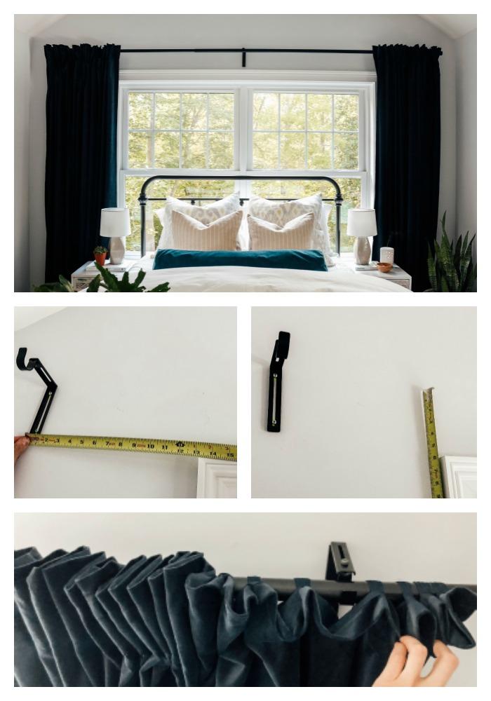 Ikea curtain rod and panels TIPS