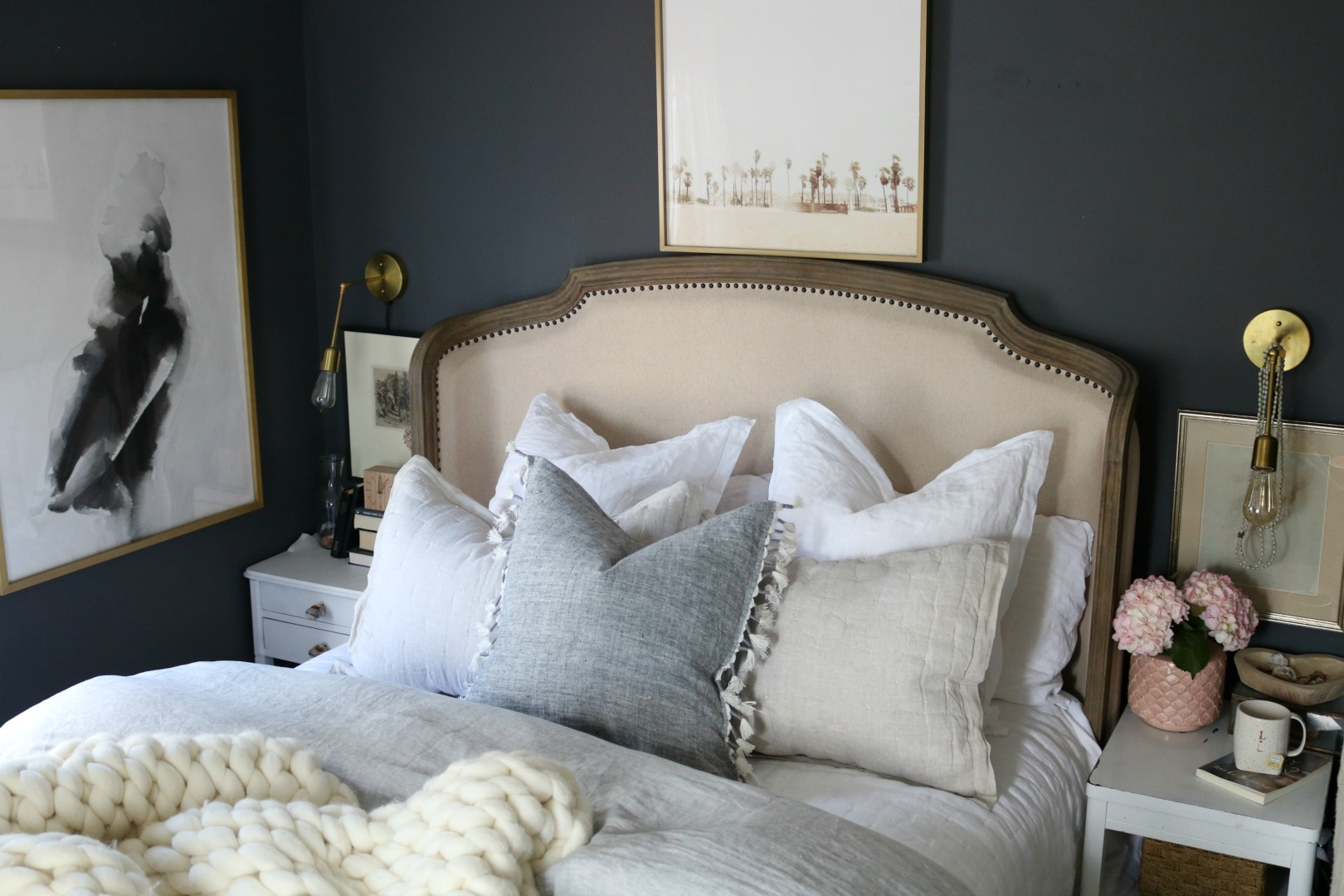 How To Make Your Bedding Fluffy And Our New Bedding Nesting With Grace