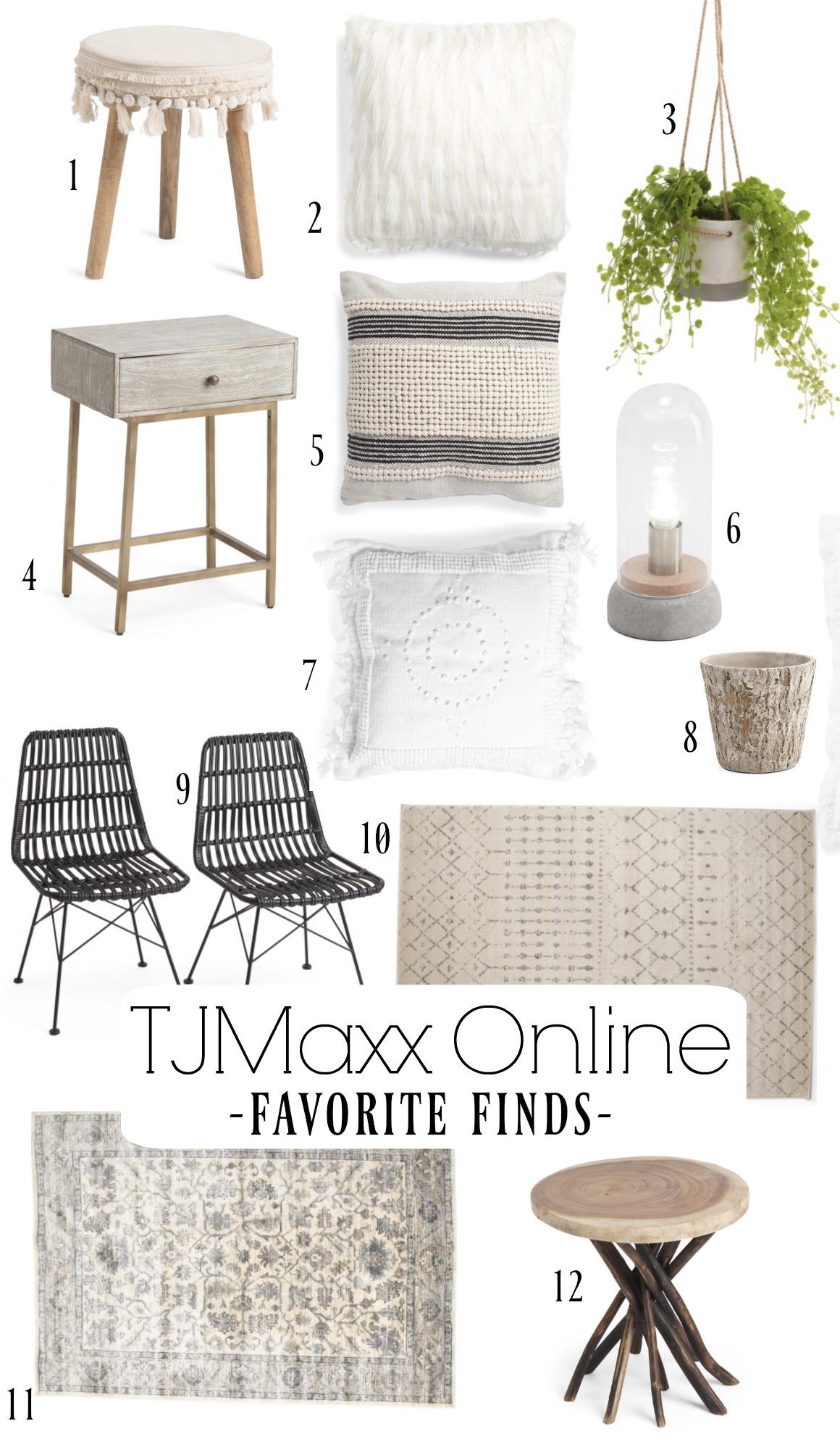TJMaxx Online Favorite Finds
