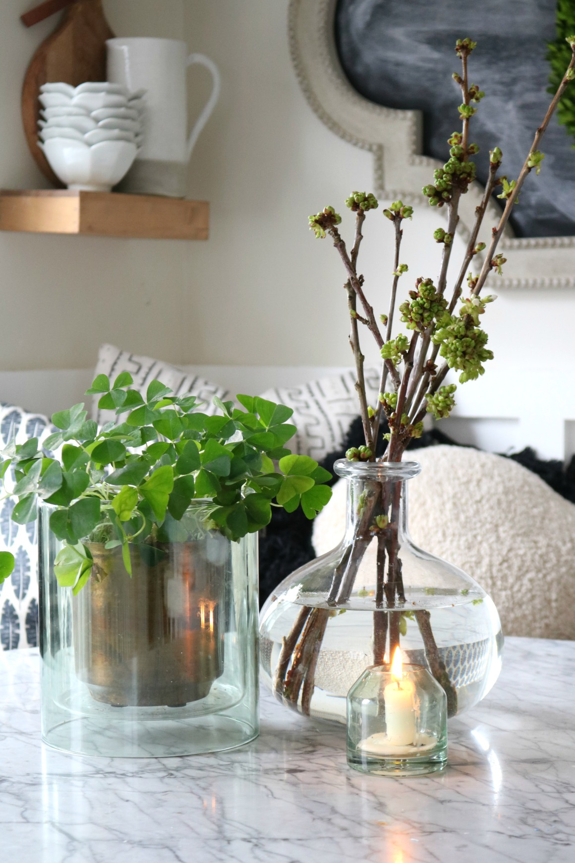 Favorite Things- Simple Coffe Table Center Piece from Target