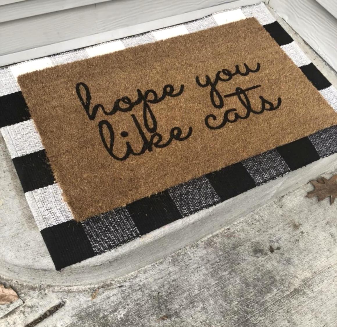 Friday Favorites- Layered Doormat