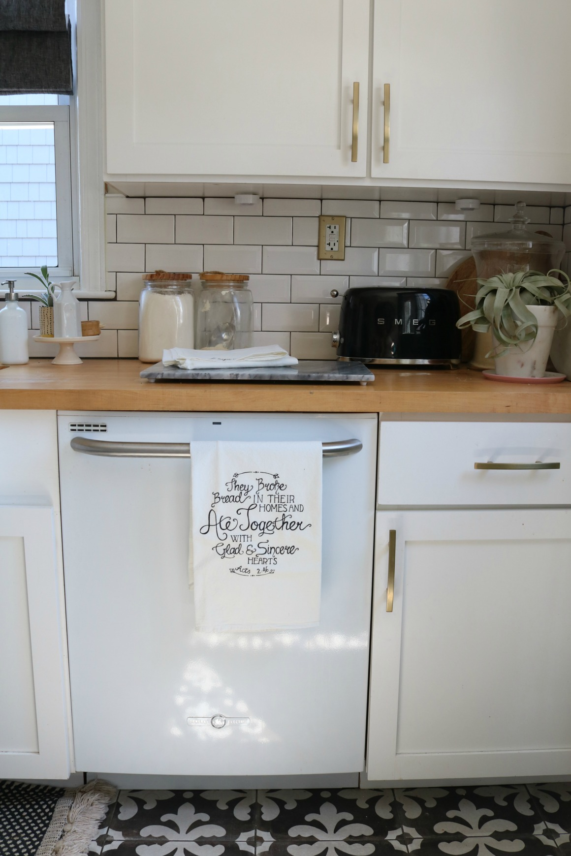 Mothers Day Gift Ideas- They Broke Bread in their Homes Dish Towel
